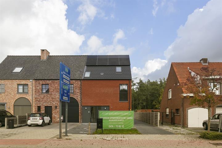 Kleinschalig nieuwbouwproject van 2 appartementen in Lier